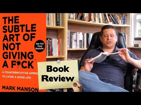 📚📚 The Subtle Art Of Not Giving A F*ck Mark Manson Audiobook Review