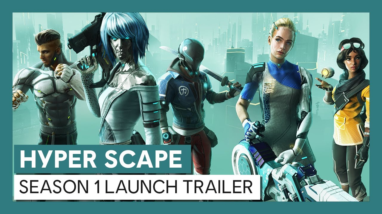 Hyper Scape: Season 1 Launch Trailer