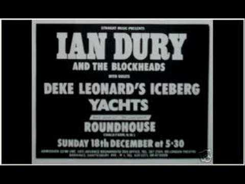 Ian Dury & The Blockheads-  Billericay Dickie -Roundhouse 77