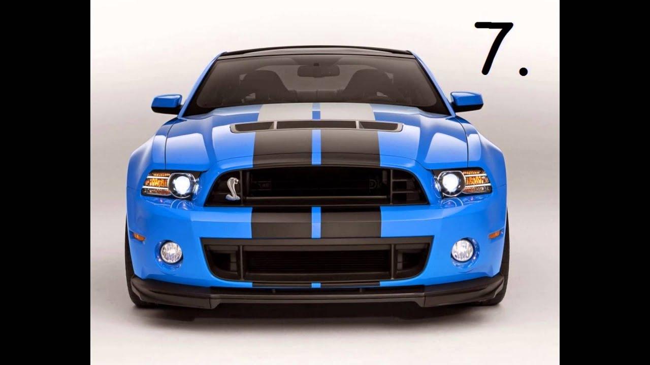 Top Ten Ford Mustangs - YouTube