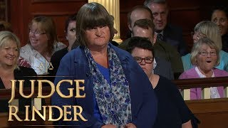 Courtroom Laughs at Defendant's Outrageous Counterclaim | Judge Rinder Video