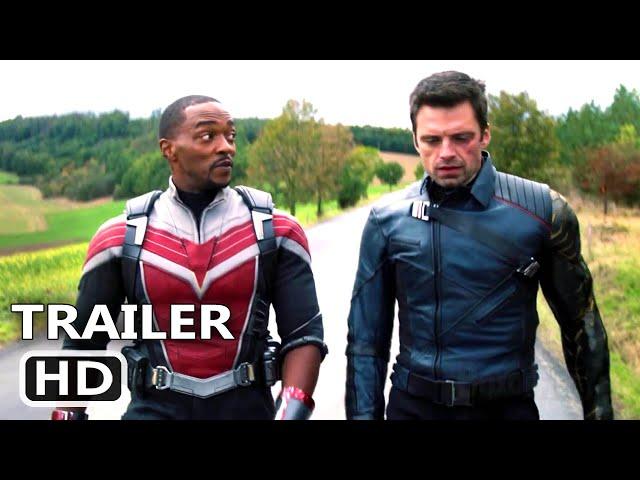 FALCÃO E O SOLDADO INVERNAL Trailer Brasileiro DUBLADO (Marvel, 2021) Super-Heroi