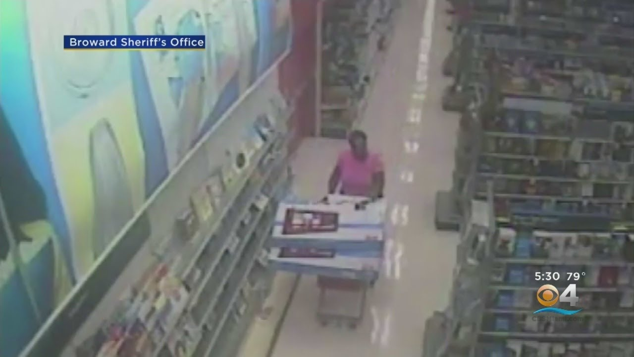 Suspected Target Shoplifter Caught On Camera