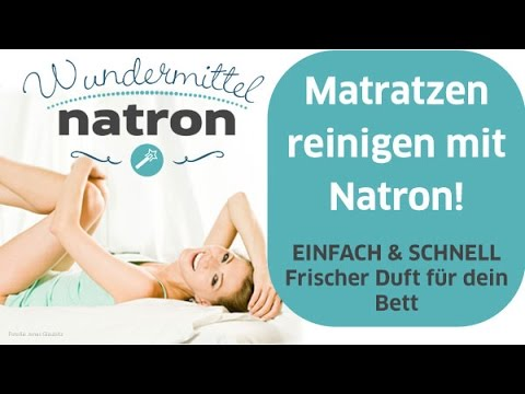 fr hjahrsputz mit natron matratze ger che entfernen youtube. Black Bedroom Furniture Sets. Home Design Ideas