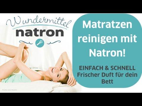 Frühjahrsputz mit Natron - Matratze Gerüche entfernen - YouTube