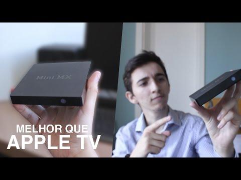 ISSO É MELHOR QUE APPLE TV! | Mini MX [ANÁLISE EM PORTUGUÊS]