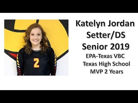 Katelyn Jordan Sr. 2019