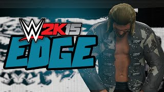 WWE 2K15 - Edge Entrance & Finisher (WWE 2K15 DLC One More Match 1080p 60fps)