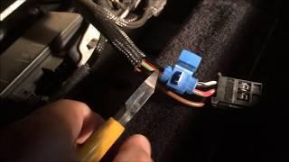 Mercedes battery drain power seat module fix. W203