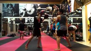 @ Jakarta Muaythai Training Camp Part 2