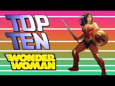 Top 10 - Storie di Wonder Woman