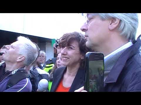 Gele Hesjes demonstratie Hilversum 16-02-2019
