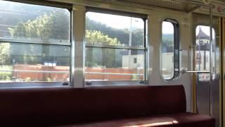 近江鉄道 米原からフジテック前 側面展望