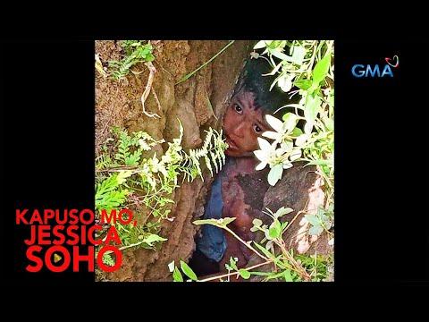 Kapuso Mo, Jessica Soho: BATA, NAHULOG AT NA-TRAP SA BIYAK NG LUPA MALAPIT SA BANGIN