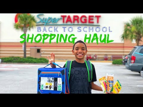 Back To Elementary School Shopping 5th Grade Supplies List