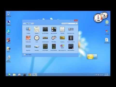 How To Get Desktop Gadgets For Windows 8