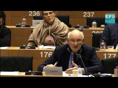 Importing food from outside the EU that we are banned to grow inside the EU - Stuart Agnew MEP