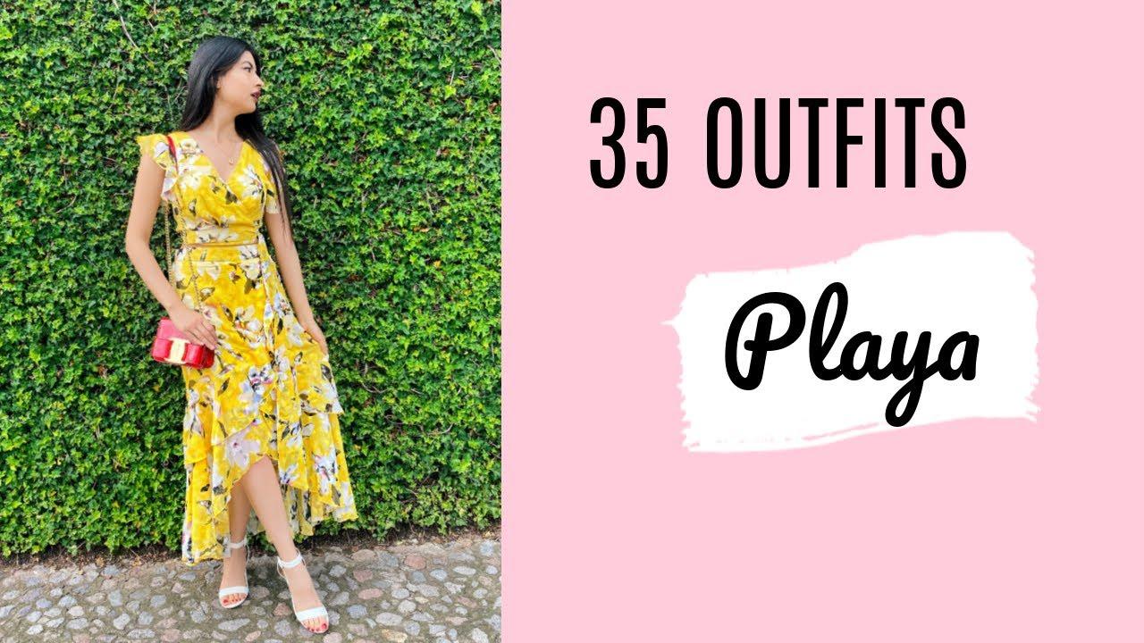 20 Outfits Para La Playa 2019 Youtube