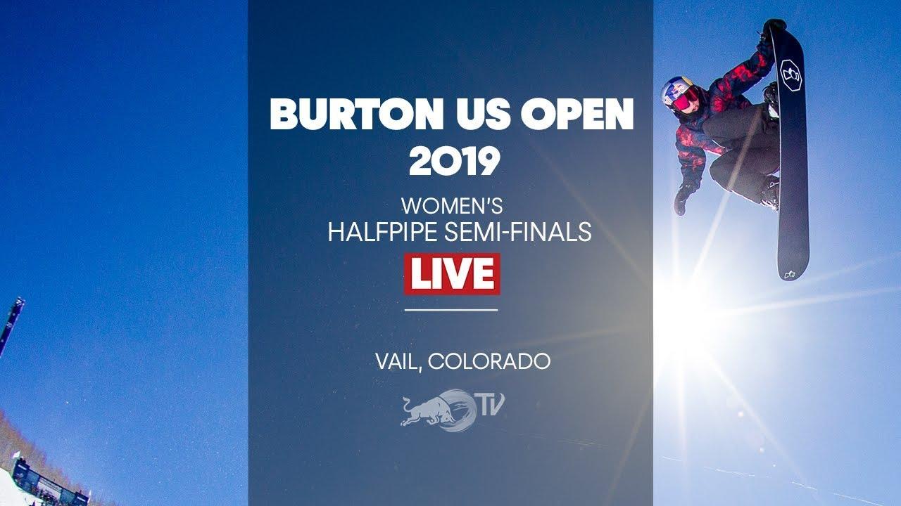 FULL SHOW - Burton US Open Women's Halfpipe Semi-Finals