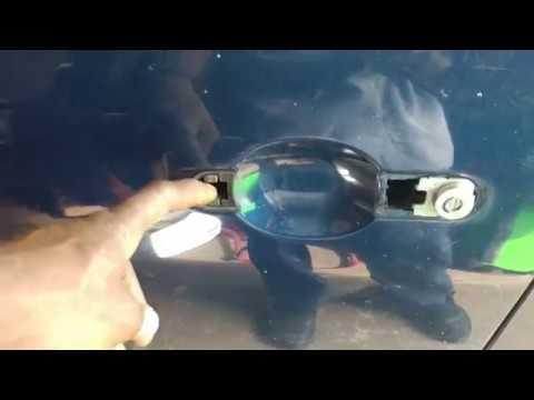 Nissan Versa Outside Door Handle Replacement Full Hd Youtube