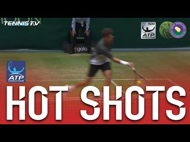 Hot Shot: Haase Invents New Shot Halle 2017