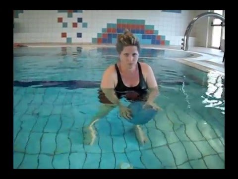 Aquatic therapy exercise routines for OA of the knee הידרותרפיה