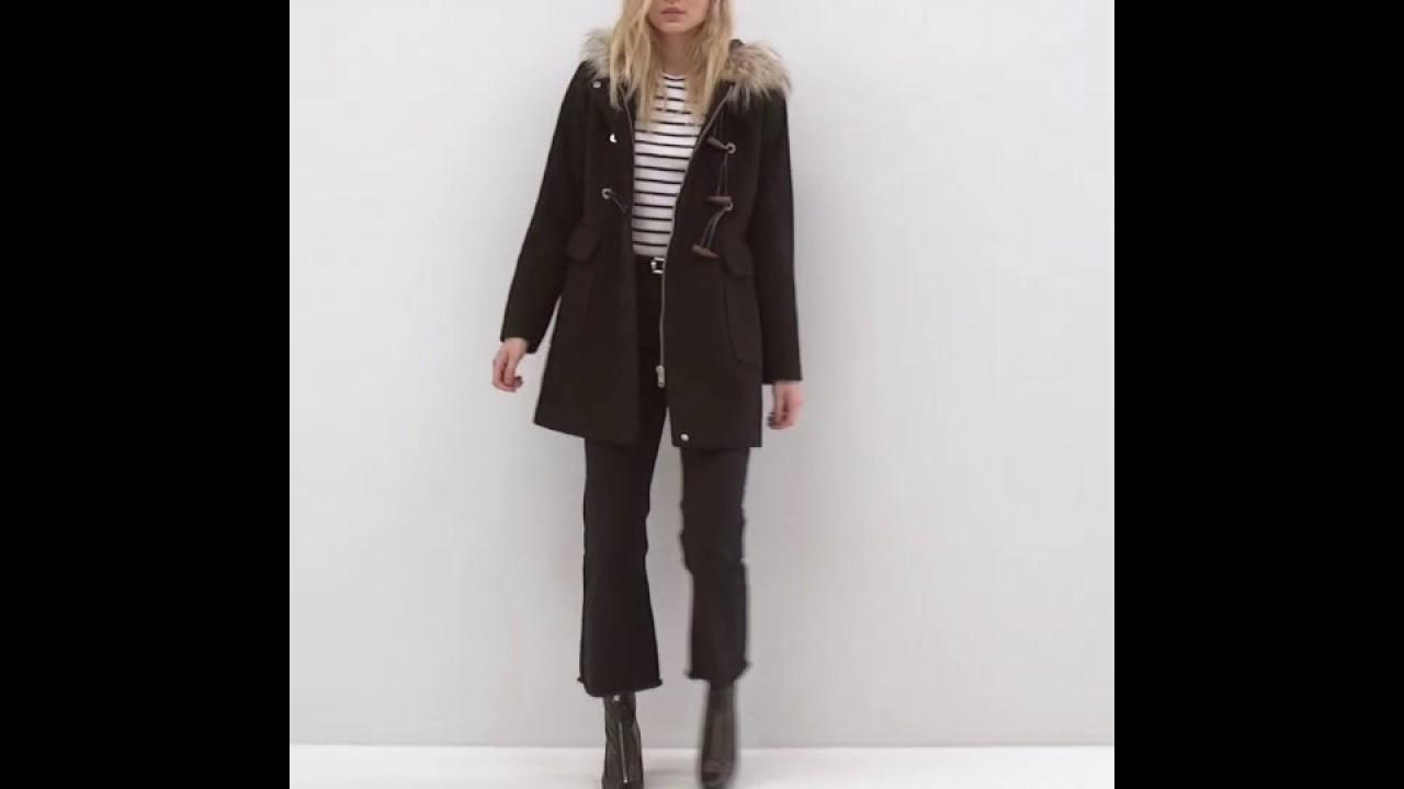e3ff14ea148 ASOS PETITE Wool Blend Faux Fur Hooded Duffle Coat - YouTube