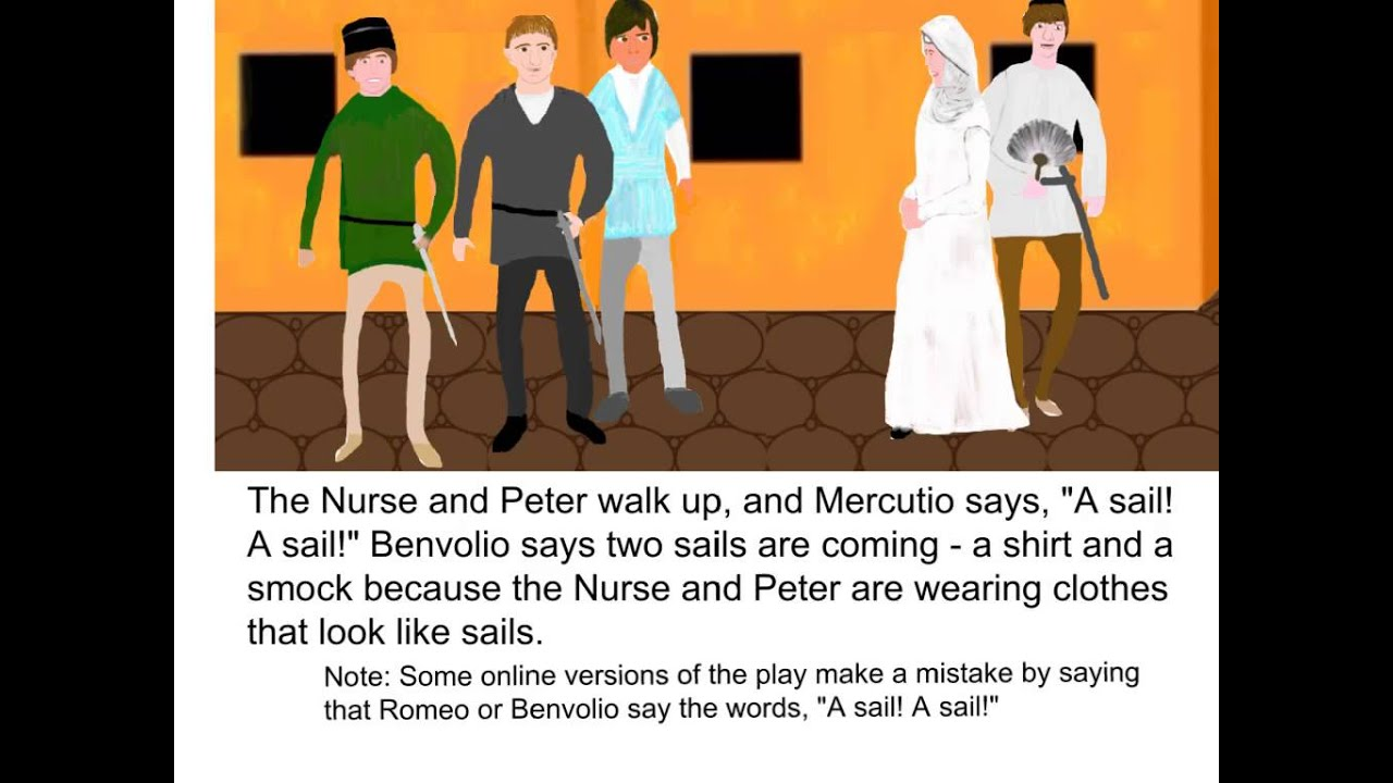 romeo and juliet act scene summary romeo and juliet act 2 scene 4 summary