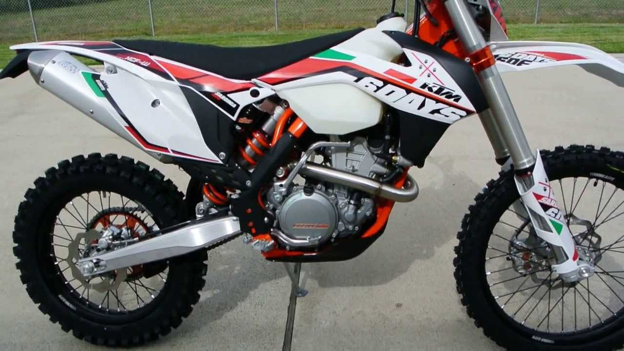2014 KTM 350 XCF-W Six Days Special Edition Overview and Review For ...