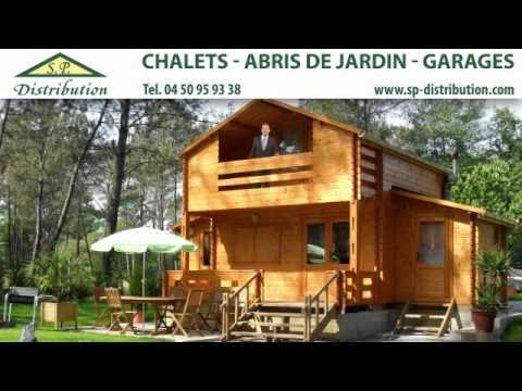 chalet en kit sp distribution youtube. Black Bedroom Furniture Sets. Home Design Ideas