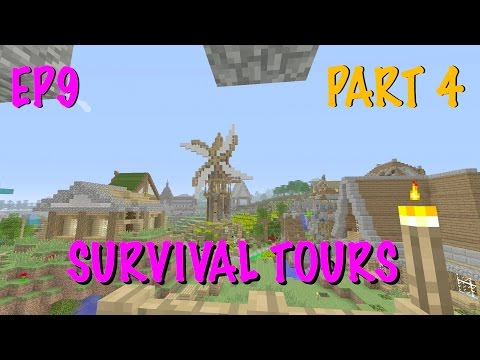 MINECRAFT SURVIVAL WORLD TOURS - RATE YOUR MINECRAFT - SUBSCRIBER KINGDOM - [EP9] PART 4