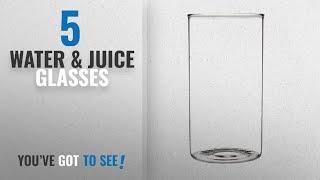 Top 10 Water & Juice Glasses [2018]: Borosil Vision Large Glass, 350ml (Set of 6)