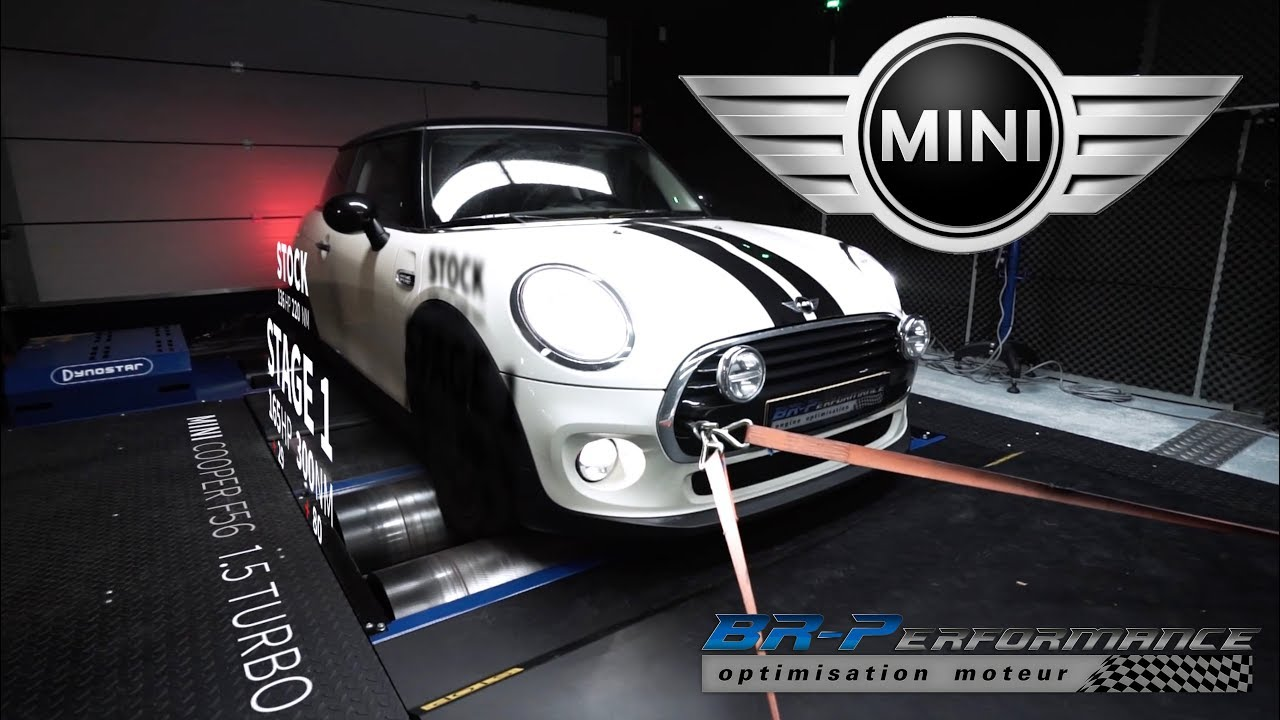 Mini Cooper F56 15 Turbo Remap Stage 1 By Br Performance Youtube
