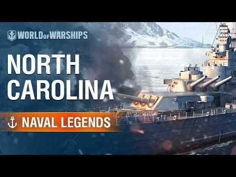 Naval Legends: North Carolina | World of Warships