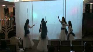 The Five Virgins with extra oil  Lamp Dance