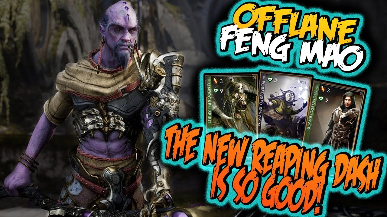 paragon feng mao deck build and guide offlane feng v44