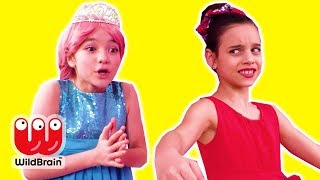 PRINCESS TALENT SHOW 🎦 Malice Turns Invisible! - Princesses In Real Life | WildBrain Kiddyzuzaa