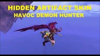How to get Guise of the Deathwalker - Hidden Artifact Skin Havoc Demon Hunter Guide!