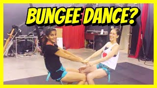 When I did a BUNGEE DANCE Class | Crazy Dance