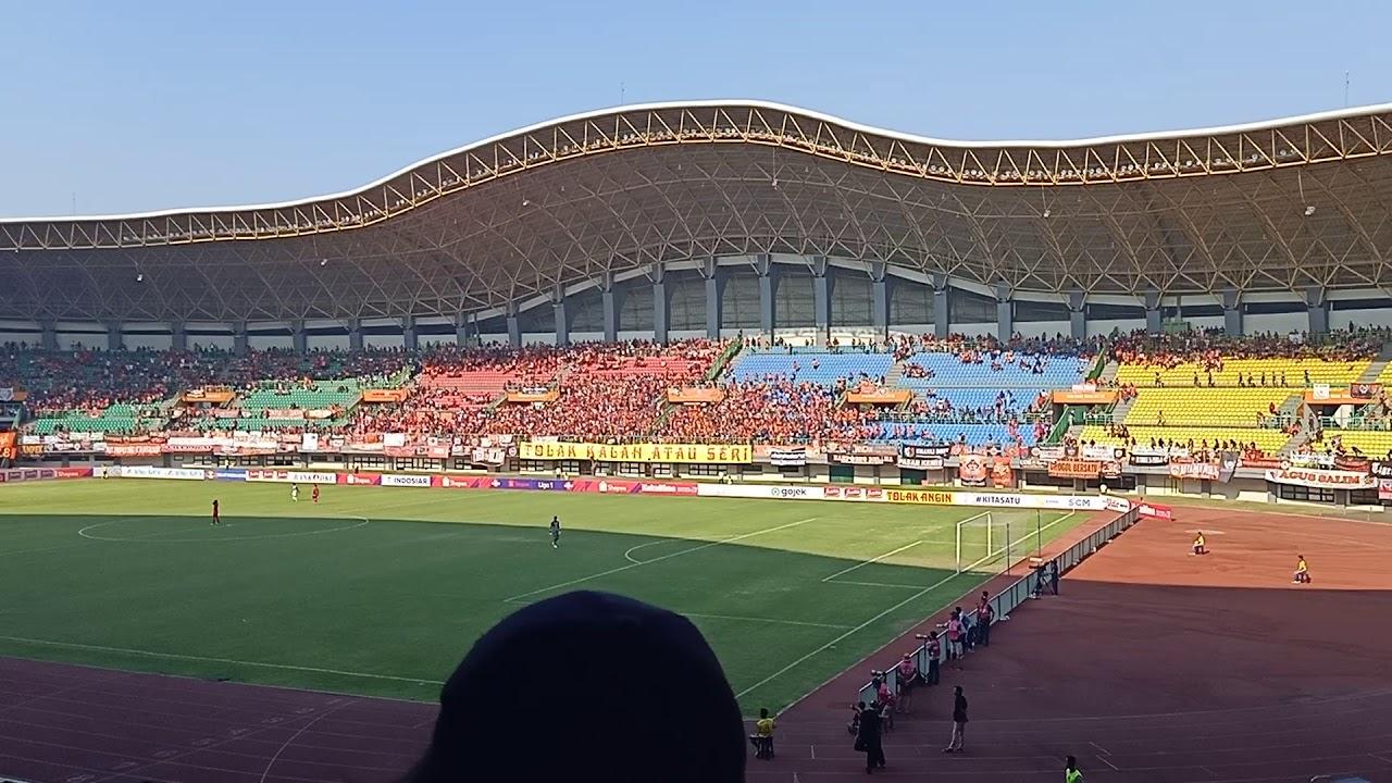 Suasana Stadion Patriot Chandrabhaga Bekasi Persija ...Badak Lampung Futbol24