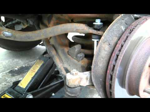 2001 GMC Sonoma sway bar end link install