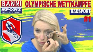 Radsport Cycling Ciclismo #1 - Olympic Wettkampf - Original Banni Sport Fan Style & Make-up