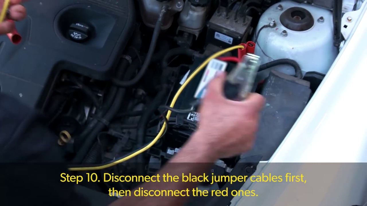 How to jumpstart a car for dummies