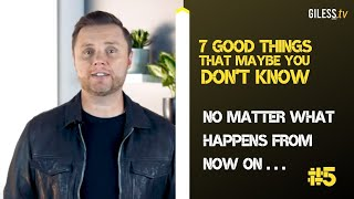 #5 No matter what happens from now on ... All things work together for your good! // 7 Good Things