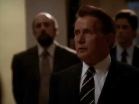The West Wing - The President destroys Dr. Jacobs