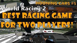 BEST SPLIT SCREEN RACING GAME EVER // HOONING CARS #5 // World Racing 2 Split Screen