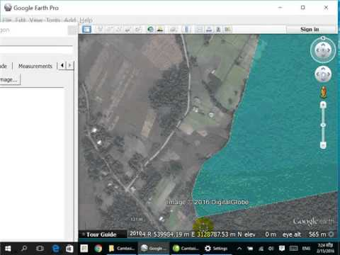 how to draw a polygon on google earth