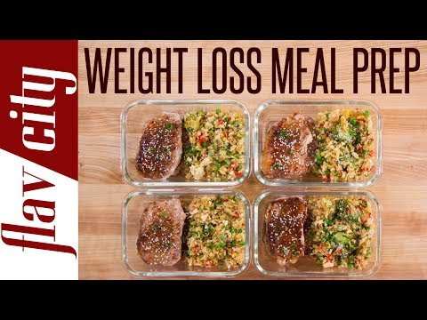 Pork Chops and Cauliflower Fried Rice - Really Tasty Weight Loss Recipes
