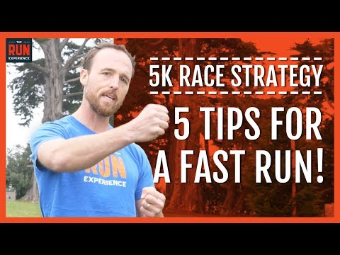 5K Race Strategy | 5 Tips For A Fast Run!