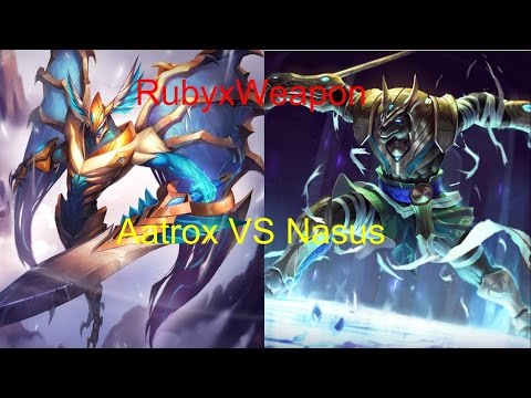 Aatrox vs Nasus Top Ranked